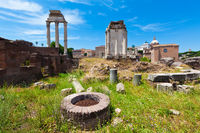 The Roman Forum (Forum Romanum), Rome, Italy