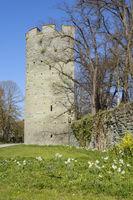 Old tower Kattenturm, Soest, North Rhine-Westphalia, Germany, Europe