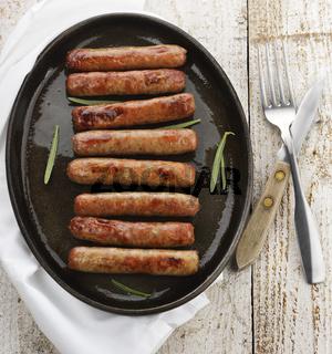 Fried Breakfast Sausage Links