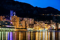 Monaco Monte Carlo By Night