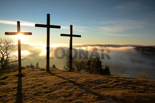 3 Kreuze auf dem Kornbühl, Schwäbische Alb