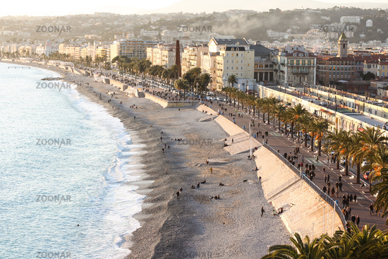 The Promenade at the City of Nice