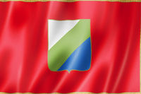 Abruzzo region flag, Italy