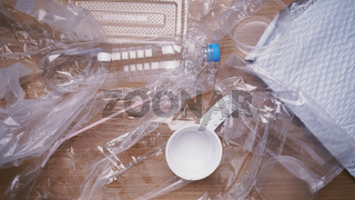domestic plastic waste