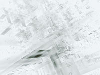 Abstract white and gray background - digitally generated 3d illustration