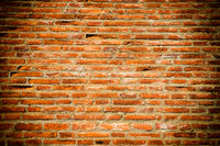 Texture of old brick wall as background