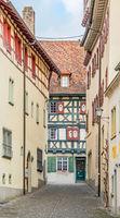 Altstadtgasse Stein am Rhein, Schweiz