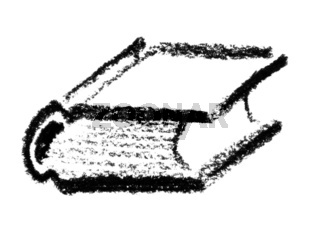 sketched book