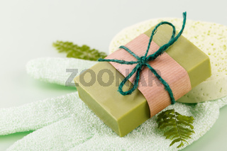 Hand made soap with olive zero waste