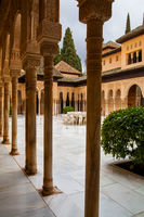 Patio of the Lions in the Alhambra
