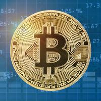 Bitcoin Krypto Währung online bezahlen digital Geld Kryptowährung Wirtschaft Finanzen quadratisch