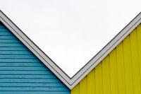 House facades 001. Eckernfoerde. Germany
