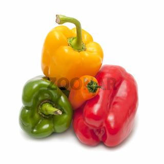 varied peppers