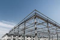 steel frame mill plant