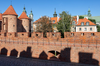 Warsaw Old Town and New Town