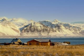 The beautiful Arnarstapi at Snaefellsness Peninsula, Iceland, Europe