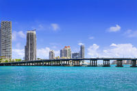 View of South Beach Miami