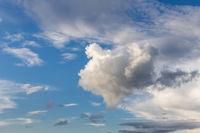 Textur Hintergrund blauer Himmel mit Wolken