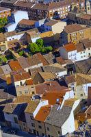 Town View from Cave Traditional Wineries, San Esteban de Gormaz, Soria, Spain