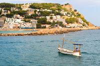 Coast Estartit Spain