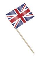 United Kingdom small paper flag