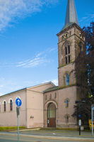 Protestant church in st wendel