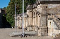 Entrance to the court garden in Coburg