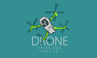 A drawn vector drone for sale and service