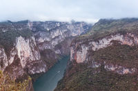 Canyon in Mexico