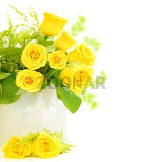Roses border