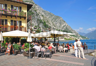 in Limone sul Garda am Gardasee