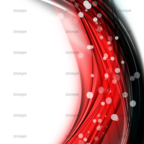 abstract elegant wave background design with bubbles