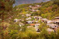 Autumn in Leshten, Rhodope mountains, Bulgaria