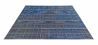 rooftop solar panels isolated