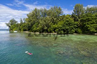Schnorcheln, Papua Neuguinea