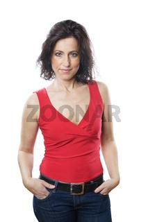 Frau mittleren Alters