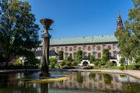 Royal Library Garden in Copenhagen, Denmark
