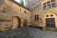 Part of historic castle complex Veste Coburg