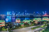 Nanchang cityscape at night