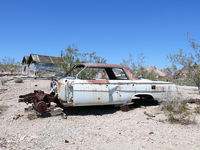 Scrapped Car at Rhyolite