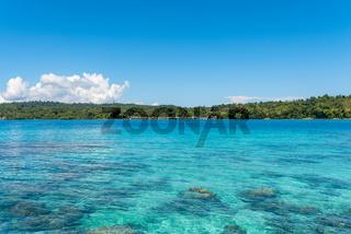 Bomba ist ein Hauptort auf den Togian Inseln in Sulawesi