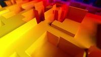Geometric maze scheme abstract background.