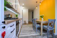 cozy modern well designed kitchen interior