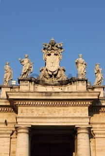 Archway in Saint Peter Basilica