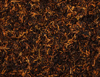Ready rubbed long coarse cut pipe tobacco blend