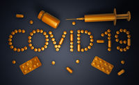 Covid 19 from tablets and capsules