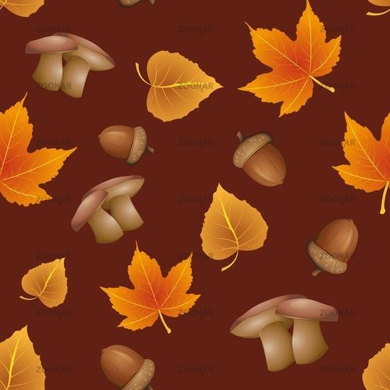 seamless pattern - Autumn