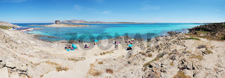 'Spiaggia della Pelosetta' - 'Golf der Asinara' - Sardinien