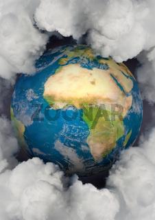 Erde & Emissionen, Hochformat