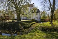 Dreckburg Castle, Westfaelischer Hellweg, Salzkotten, East Westphalia-Lippe, Germany, Europe